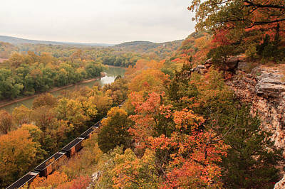 Castlewood State Park Print by Scott Rackers