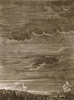 Castor And Pollux, 1731 Print by Bernard Picart