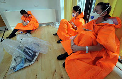 Terrorist Photograph - Casualties At Major Emergency Training by Public Health England