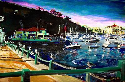 Catalina Island 1 Print by Rom Galicia