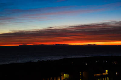 Catalina Island Sunset Print by Penny Lisowski