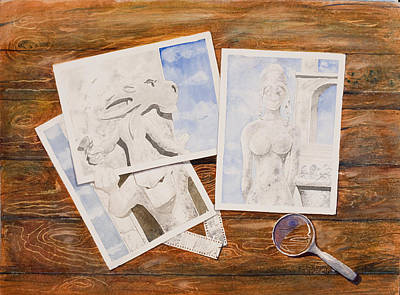 Proofs Painting - Catch A Glimpse by Paul Kasmir