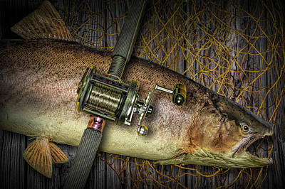 Wild Trout Photograph - Catch Of The Day by Randall Nyhof