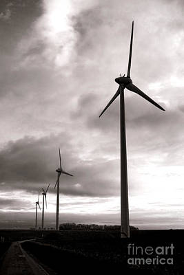 Turbine Photograph - Catch The Wind by Olivier Le Queinec