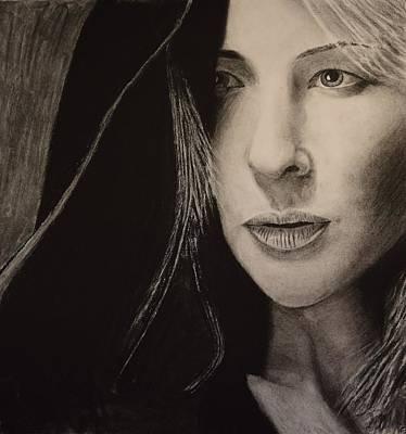 Cate Blanchett Print by David Hendrickson