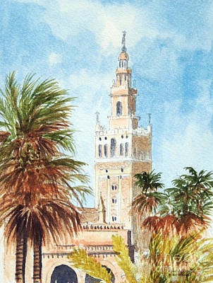Seville Painting - Catedral De Sevilla by Bill Holkham