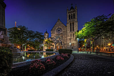 Immaculate Photograph - Cathedral At Columbus Circle by Everet Regal