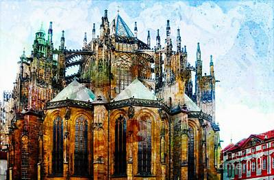 Cathedral Print by Daniela White
