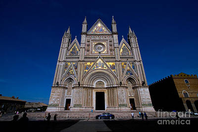 Orvieto Photograph - Cathedral Of Orvieto, Italy by Tim Holt