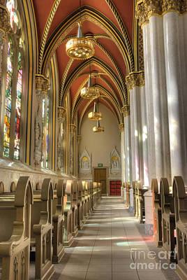 Cathedral Of Saint Helena Print by Juli Scalzi