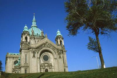 Cathedral Of Saint Paul Minnesota - Architecture Photo Print by Art America - Art Prints - Posters - Fine Art