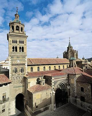 Teruel Photograph - Cathedral Of Santa Mar�a De Mediavilla by Everett