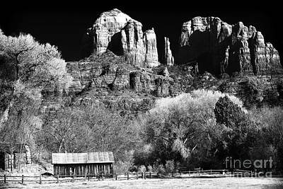 Cathedral Rock Print by John Rizzuto