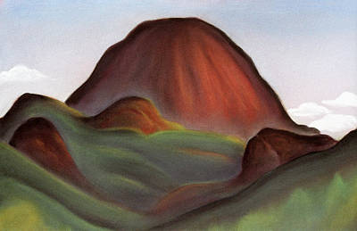 Cathedral Rock Warrumbungle National Park Nsw Print by Judith Chantler