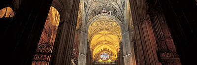 Cathedral Seville Andalucia Spain Print by Panoramic Images