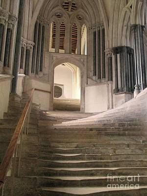 Cathedral Stairs Print by Ken Andersen