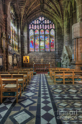 Cathedral Window Print by Ian Mitchell