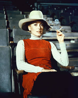 Fool Photograph - Catherine Deneuve In The April Fools by Silver Screen