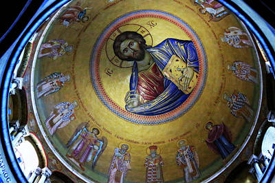 Byzantine Photograph - Catholicon No. 3 by Stephen Stookey