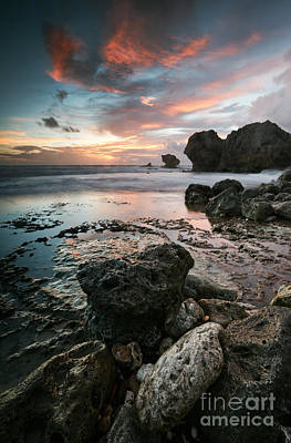 Caribbean Photograph - Cattlewash Beach Barbados - Caribbean by Matteo Colombo