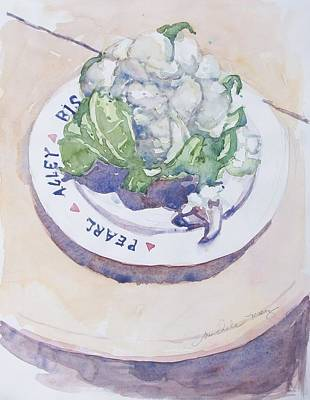 Cauliflower Painting - Cauliflower by Michele Marez