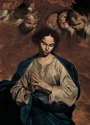 Immaculate Photograph - Cavallino Bernardo, The Immaculate by Everett