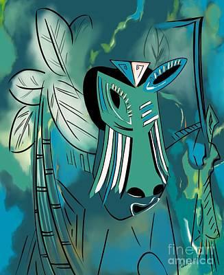 Cavamoru Print by Barbara Drake