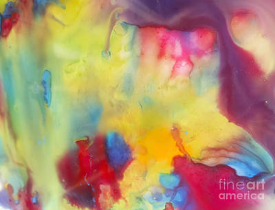 Abstraction Painting - Cave Abstract Painting by Justyna JBJart