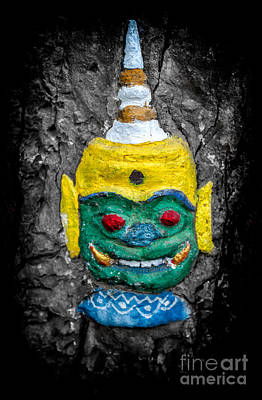 Buddhism Photograph - Cave Face 1 by Adrian Evans