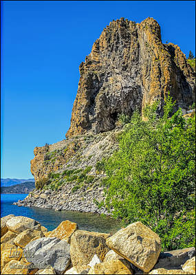 Indian Photograph - Cave Rock Lake Tahoe by LeeAnn McLaneGoetz McLaneGoetzStudioLLCcom