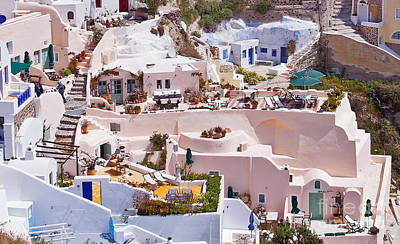 Vacances Photograph - Cave Settlements Type Villas by Aiolos Greek Collections