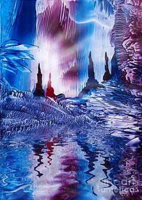 Cavern Painting - Cavern Of Castles by Simon Bratt Photography LRPS