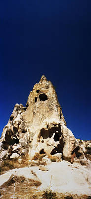 Caves And Fairy Chimneys Of Cappadocia Print by Panoramic Images