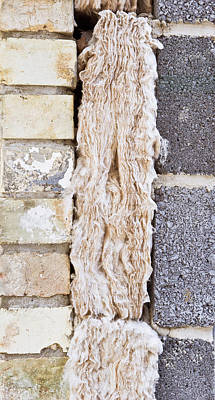 Block Quilts Photograph - Cavity Insulation by Tom Gowanlock