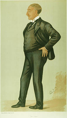 Rhodes Painting - Cecil Rhodes (1853-1902) by Granger