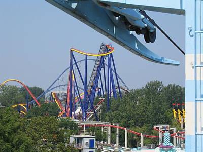 Mantis Photograph - Cedar Point - Mantis - 121211 by DC Photographer