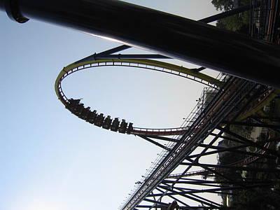Mantis Photograph - Cedar Point - Mantis - 12129 by DC Photographer