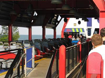 Cedar Point - Millennium Force - 12125 Print by DC Photographer