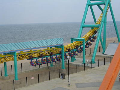Wicked Photograph - Cedar Point - Wicked Twister - 12126 by DC Photographer