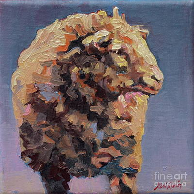 Animals Painting - Cedric by Patricia A Griffin