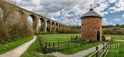Viaduct Photograph - Cefn Viaduct by Adrian Evans