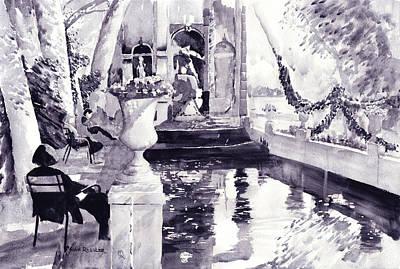 Ressler Painting - Celebrating Summer Paris Style by John Ressler