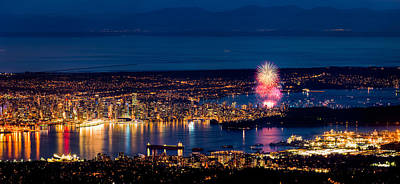 Stanley Park Photograph - Celebration Of Light 2014 - Day 1 - Usa by Alexis Birkill
