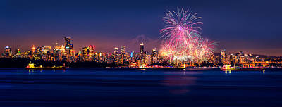 Stanley Park Photograph - Celebration Of Light 2014 - Day 2 - France by Alexis Birkill