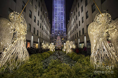 Plaza Photograph - Celebration Of Light by Evelina Kremsdorf