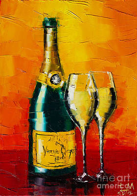 Celebration Time Print by Mona Edulesco