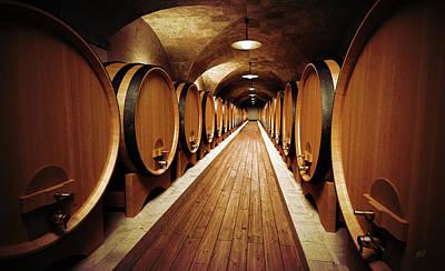 Vineyard Digital Art - Cellar by Bruno Haver