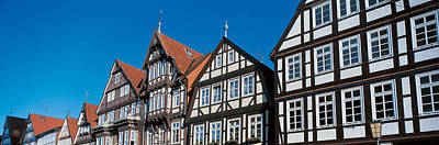 Rooftop Photograph - Celle Niedersachsen Germany by Panoramic Images