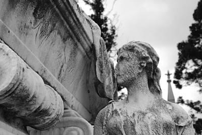 Gravestone Photograph - Cemetery Gentlewoman by Jennifer Ancker