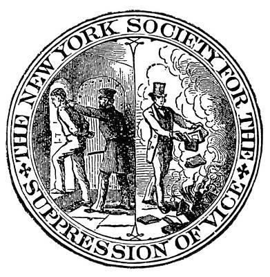 Censorship Seal, 1873 Print by Granger